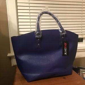 Large tote-size handbag from JustFab.